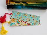 Shaadi Ke Card Se Flower Banana Easy Craft How to Make Fancy Bookmark