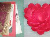 Shaadi Ke Card Se Flower Kaise Banaye Shadi Ke Card Se Phool Kaise Banaye How to Make Flower