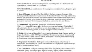 Shareholder Contract Template 18 Shareholder Agreement Templates Free Word Pdf