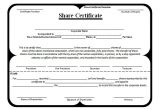 Shareholders Certificate Template Free 21 Share Stock Certificate Templates Psd Vector Eps