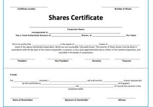 Shareholders Certificate Template Free Stock Certificate Template Cyberuse