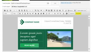 Sharepoint Email Template Enovapoint Send Newsletters In Sharepoint 2010 2013