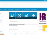 Sharepoint Hr Template Human Resources Portal Template for Office 365 and