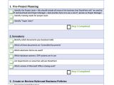 Sharepoint Requirements Template 7 Project List Templates Sample Templates
