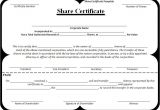 Shares Certificate Template 10 Share Certificate Templates Free Word Templates