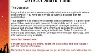 Shark Tank Business Plan Template Business Plan Ppt In Entrepreneurship Powerpoint Template