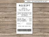 Shopping Receipt Template 7 Electronic Receipt Templates Doc Pdf Free