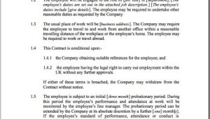 Short Term Employment Contract Template Fixed Short Term Employment Contract Template