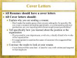 Should All Resumes Have A Cover Letter sounds Simple Doesn T It Ppt Download