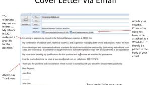 Should I attach Cover Letter to Email Teen Resume Workshop Pasadena Public Library