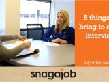Should You Bring A Resume to A Job Interview Job Interview Tips Part 6 5 Things to Bring to A Job