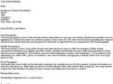 Should You Turn In A Resume with A Job Application Use This Cover Letter Template to Apply for A Job Simple