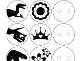 Shrinky Dink Printable Templates Shrinky Dink Templates for buttons Crafts Easy to Do
