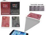 Shuffle Tech Professional Card Shuffler Marked Playing Cards for Anti Cheat Poker Analyzer Texas