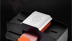 Shuffle Tech Professional Card Shuffler Win Full Card Shufflers Battery Operated Professional Card Shuffler 1 2 Decks High Speed Automatic Plastic Shuffling Machine Playing Card Games