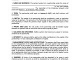 Silent Partner Contract Template Silent Partner Contract Template Sampletemplatess