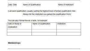 Simple Blank Resume format 46 Blank Resume Templates Doc Pdf Free Premium