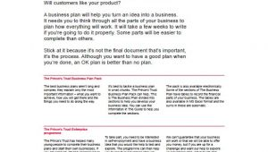 Simple Business Plan Template Free Word Uk Simple Business Plan Template 14 Free Word Excel Pdf
