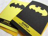 Simple Card for Father S Day Batman Father S Day Card Dad You Re My Hero Handmade by