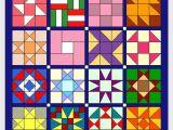 Simple Card Trick Quilt Pattern Nahanleitung Ohne Schablonen Fur 9er Blocke Quilten
