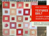 Simple Card Trick Quilt Pattern Textured Quilt Sampler Tutorial Sewn Up