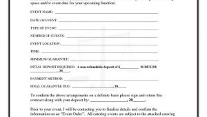 Simple Catering Contract Template 25 Best Ideas About Catering events On Pinterest