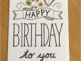 Simple Design for Greeting Card 20 Sweet Birthday Card Ideas for Mom Candacefaber