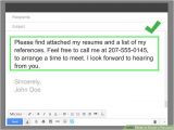 Simple Email format for Sending Resume to Company How to Email A Resume with Pictures Wikihow