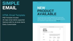 Simple HTML Email Template Code 9 Sample HTML Emails Psd