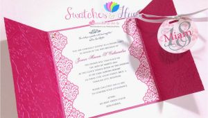 Simple Invitation Card for Debut Princess theme Gate Fold Debut Invitation Birthday Party