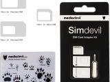 Simple Mobile Sim Card Near Me Mediadevil Simdevil 3 In 1 Sim Karten Adapter Set Nano Mikro Standard