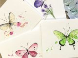 Simple New Year Card Design 113 Best Hand Painted Watercolor Cards Images In 2020