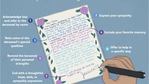 Simple Note to Write In Sympathy Card How to Write A Condolence Letter or Sympathy Note