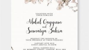 Simple Quotes for A Wedding Card Marriage Day Invitation Card Marriage Day Invitation Card