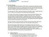 Simple Restaurant Business Plan Template Pdf 19 Business Plan Templates Free Sample Example format
