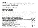 Simple Resume format for Flight attendant 5 Flight attendant Resume Templates Free Word Pdf