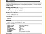 Simple Resume format for Freshers Doc Simple Resume format for Freshers Doc Resume format Example