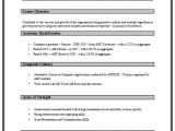 Simple Resume format for Freshers In Ms Word 1 Page Resume format for Freshers Free Resume format