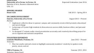 Simple Resume format for Undergraduate Students 9 Student Resume Templates Pdf Doc Free Premium