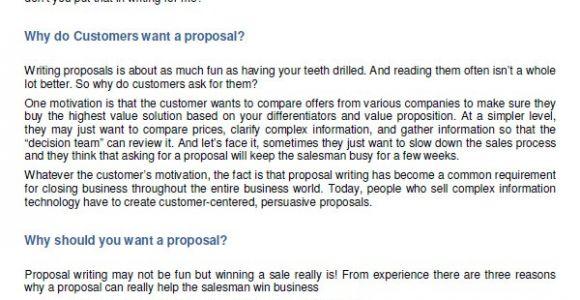 Simple Sales Proposal Template 20 Sample Sales Proposal Templates Pdf Word Psd