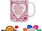Sister and Brother In Law Anniversary Card Indigifts Rakhi Gifts for Brother Pyara Bhaiya with Roli