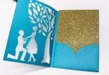 Size Of An Invitation Card Wedding Invitation Card Bride and Groom Pattern Love Card