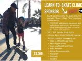 Skateboard Sponsorship Contract Template Exposure 2017 Sponsorship Opportunities