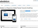 Skeleton Responsive Template 20 Plantillas Web Gratis Responsive Web Design Para