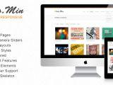 Skeleton Responsive Template Photomin Responsive HTML Template Multipurpose themes
