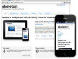 Skeleton Responsive Template WordPress Dieci Temi Responsive Gratuiti Per Il Vostro Blog
