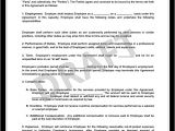 Small Business Employee Contract Template Create An Employment Contract In Minutes Legaltemplates
