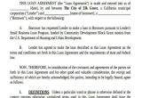 Small Business Loan Contract Template 20 Loan Agreement form Templates Word Pdf Pages