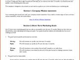 Small Business Marketing Plan Template Small Business Marketing Plan Template 28 Images Small