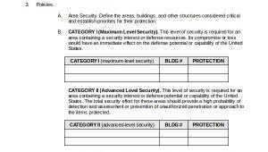 Small Business Security Plan Template 10 Security Plan Templates Sample Templates